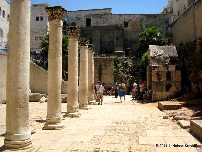 Israel, Jerusalem, Cardo Maximo