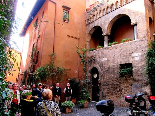 Oldest synagogue in Trastevere