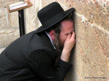 Israel, Jerusalem, Western Wall, wailing