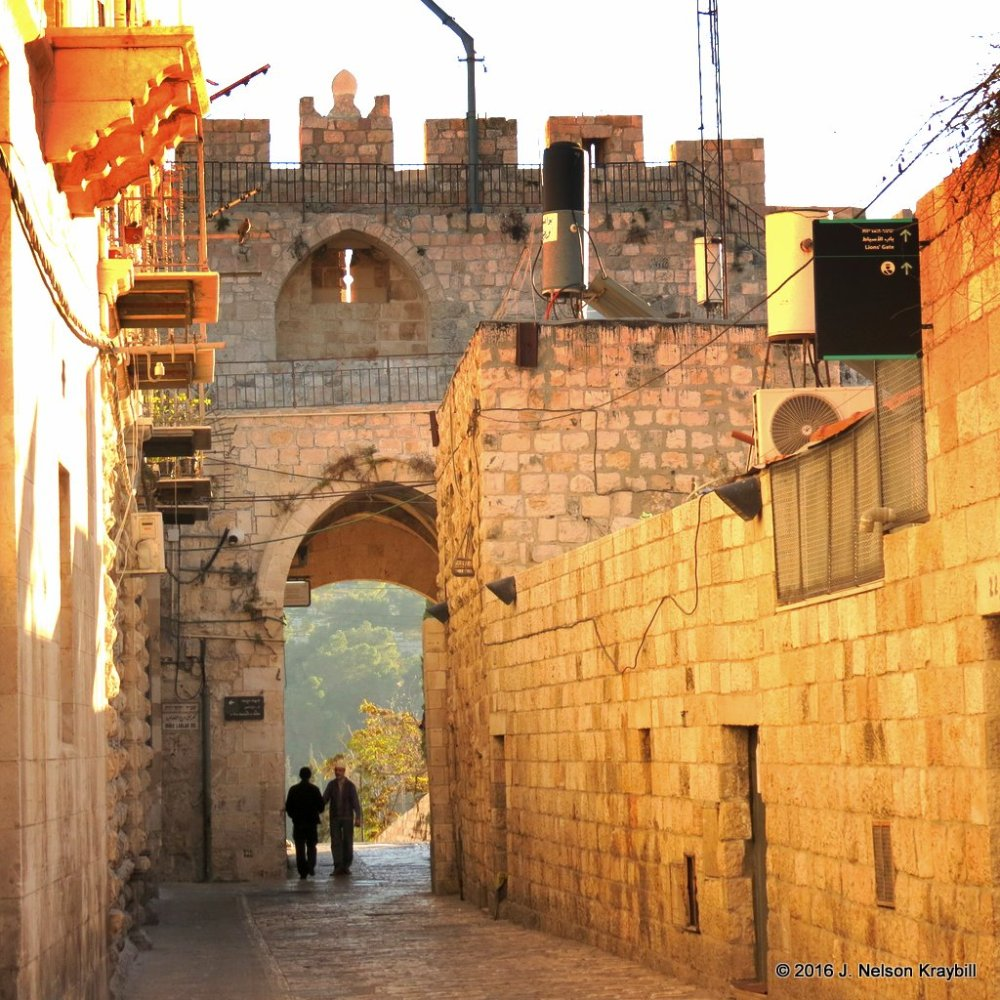 Lion Gate or Stephern's Gate